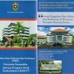 Fakultas Ilmu Kelautan dan Perikanan Universitas Hasanuddin