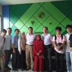 Kunjungan Tim Peneliti Tsukuba University ke Gudang Rumput Laut Kospermindo Makassar