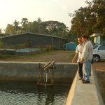Assoc. Prof. Dr. Marcos das Neves Berkunjung ke Budidaya Rumput Laut Takalar
