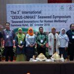 "The 3<sup>rd</sup> International ""CEDUS-UNHAS"" Seaweed Symposium 2018"